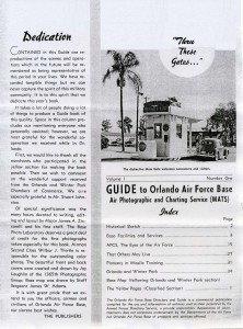Orlando AFB Guide (courtesy of James Powell)