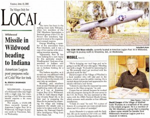 The Villages Daily Sun (courtesy of Julie Barrett)