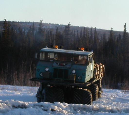 MM-1 Teracruzer Found Gold Mining in Alaska
