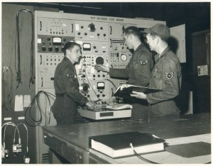 Map Matcher Test Bench - Sid Segler, Bill Simpson & JD Lee (photo courtesy of Sid Segler)