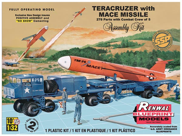 Teracruzer with Missile Plastic Model Kit