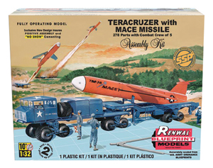 Teracruzer with Mace Missile 1/32 Kit