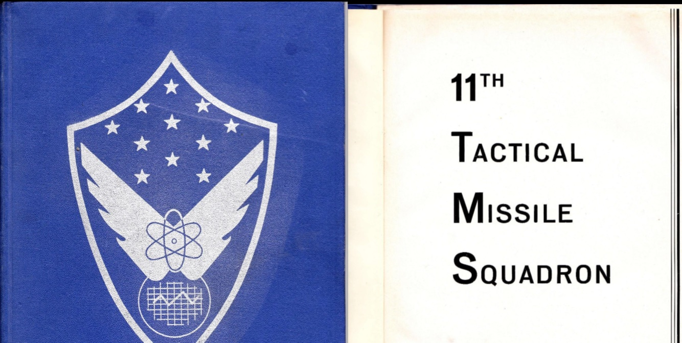 Sembach Air Base 11th TMS Yearbook – 1957/58