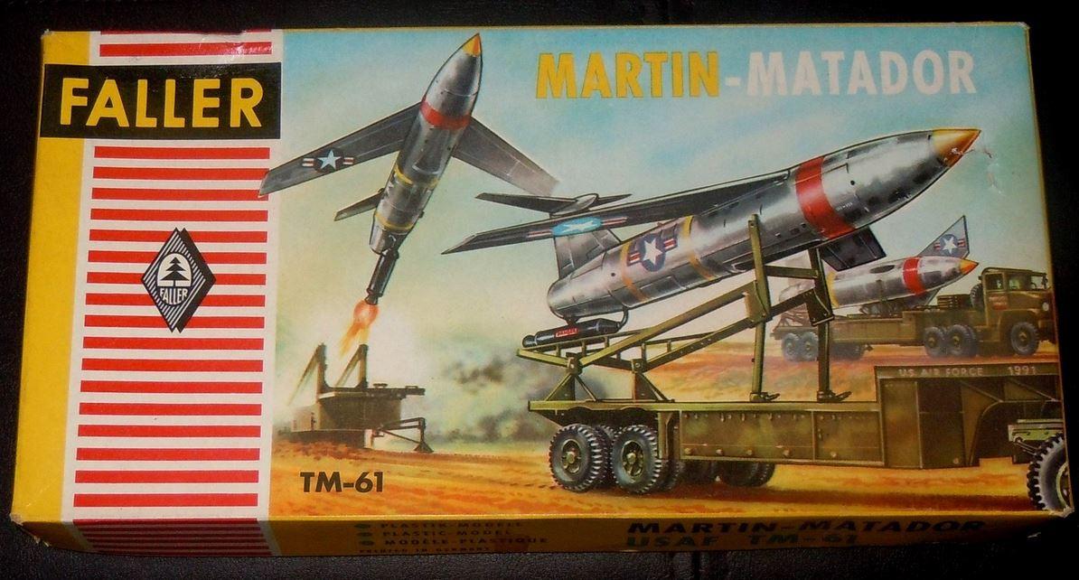 Faller TM-61 (Matador) Model Kit