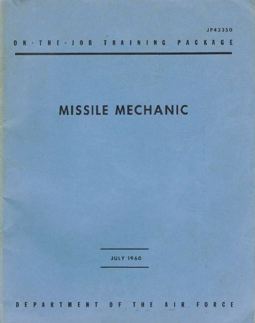 Missile Mechanic OJT Package JP43350