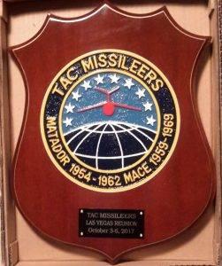 TAC Missileers Plaque