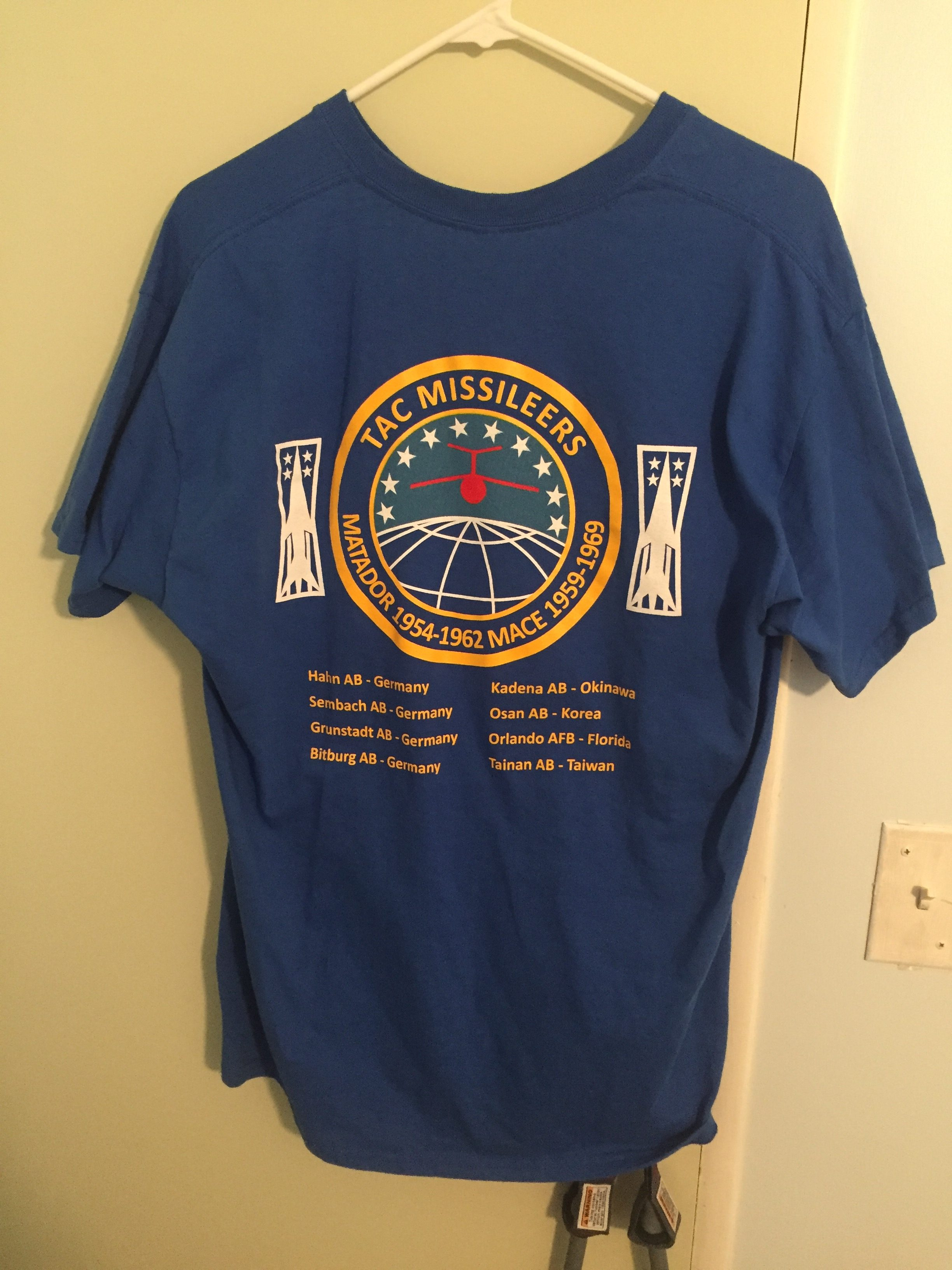 TAC Missileers T-Shirts – Update #4